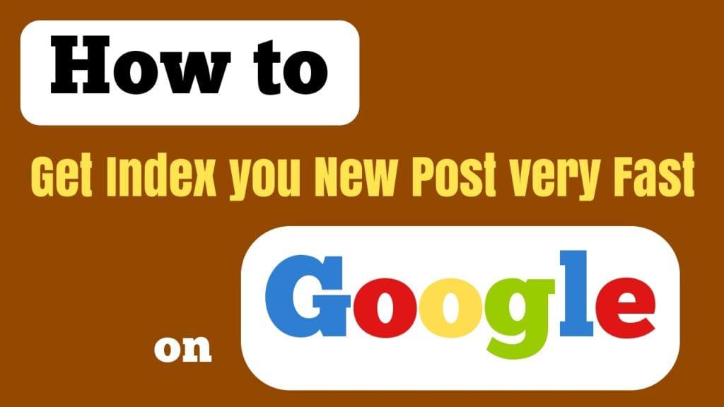 index blog posts quickly