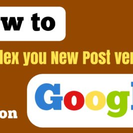 index blog posts quickly
