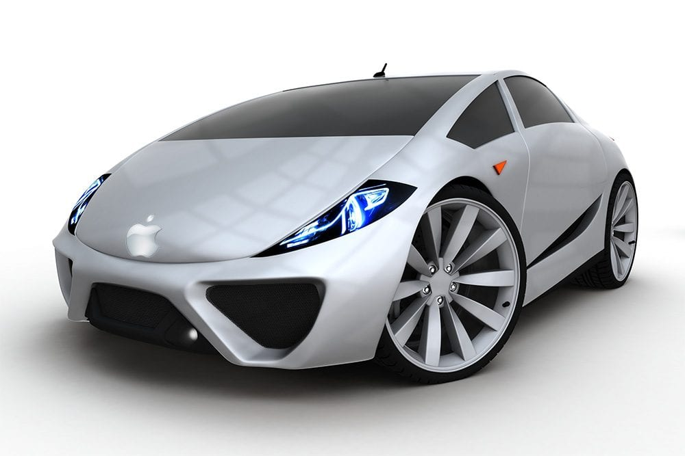 Apple battery car