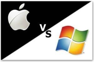 Microsoft versus Mac