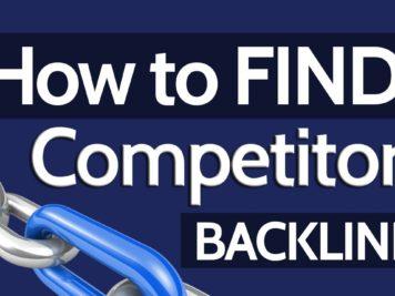 find competitors backlinks