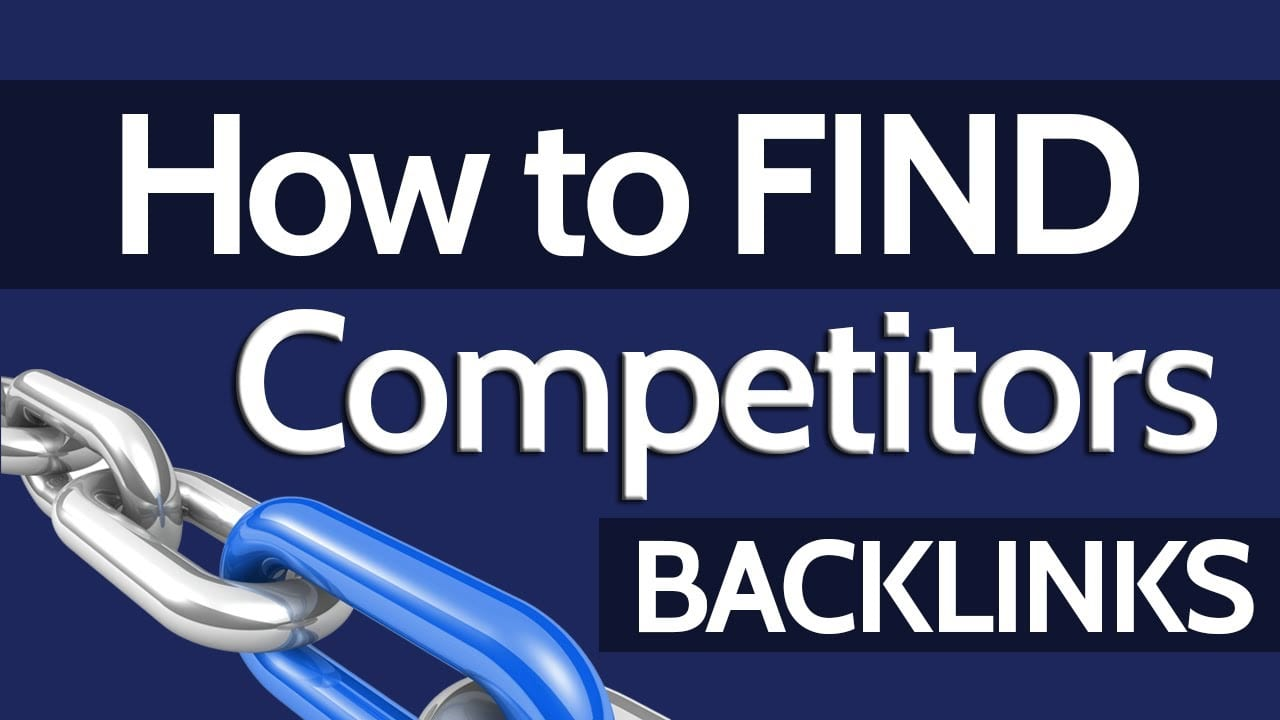 find competitors backlinks