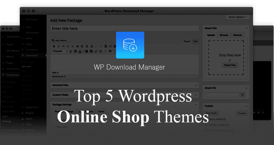 WordPress Themes for Online Store