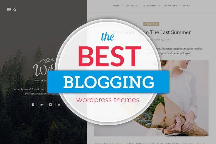 wordPress themes for blogging