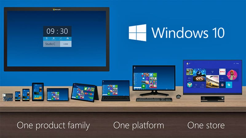 microsoft tests windows 10