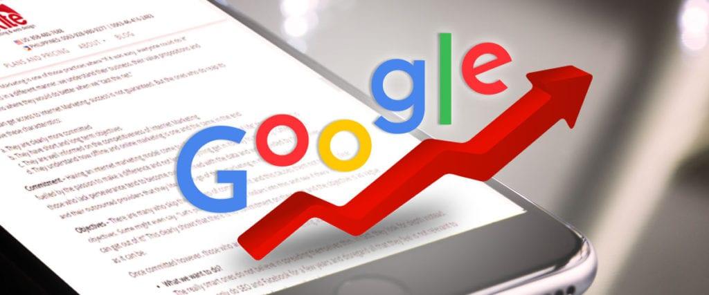 google search engine ranking factors