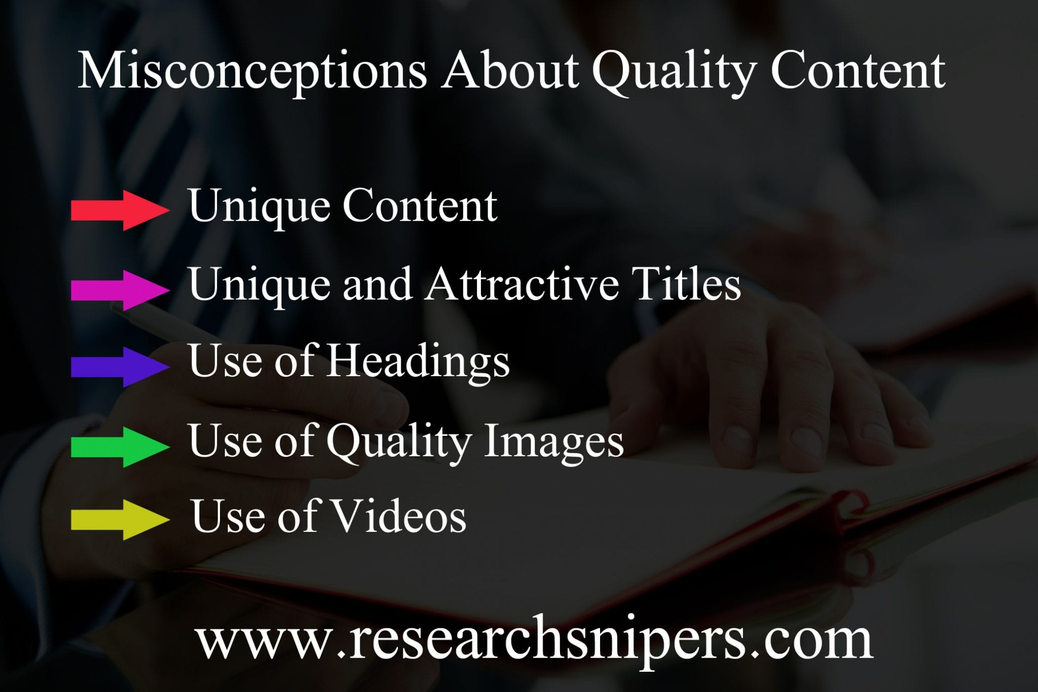 misconceptions quality posts