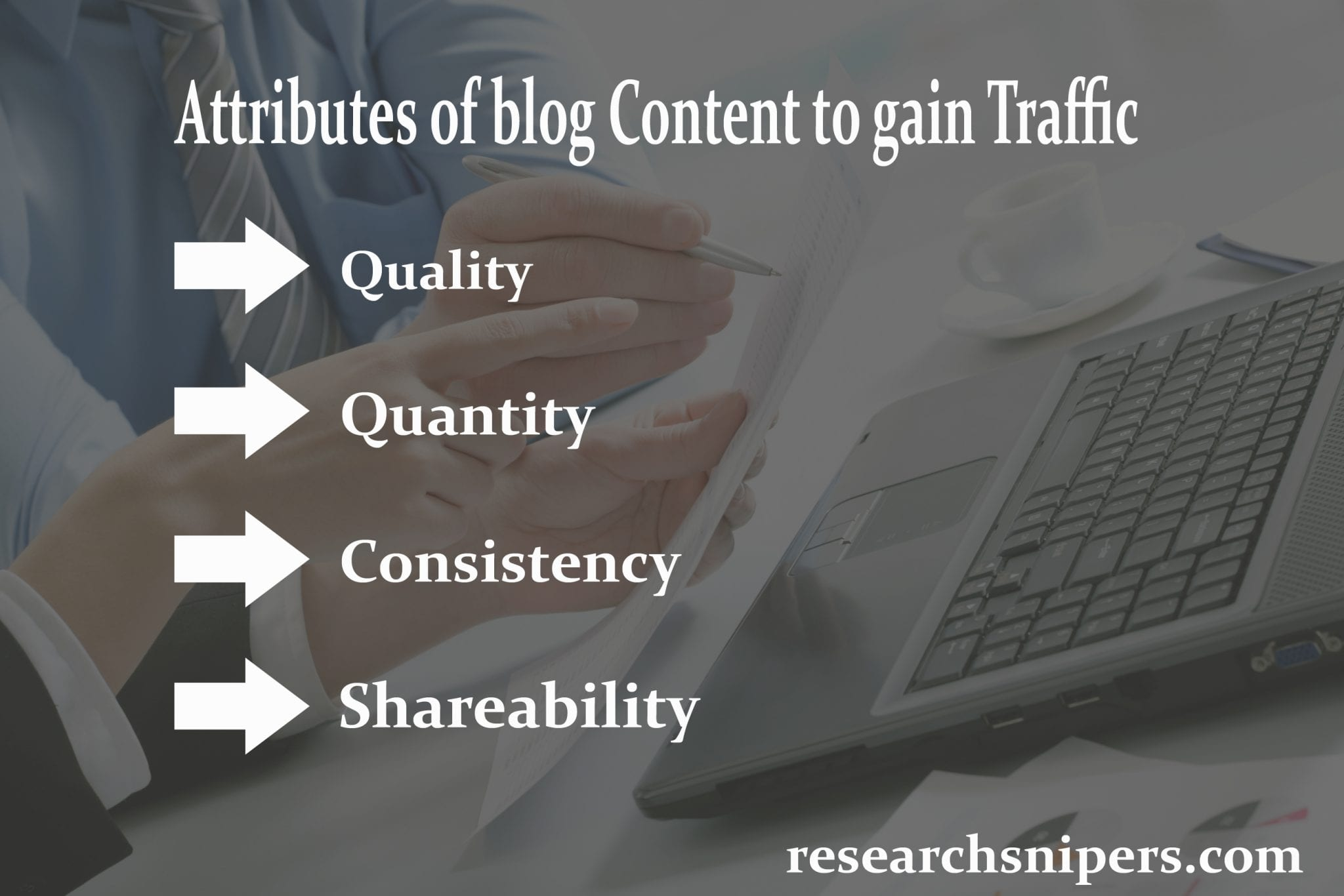 quality content attributes