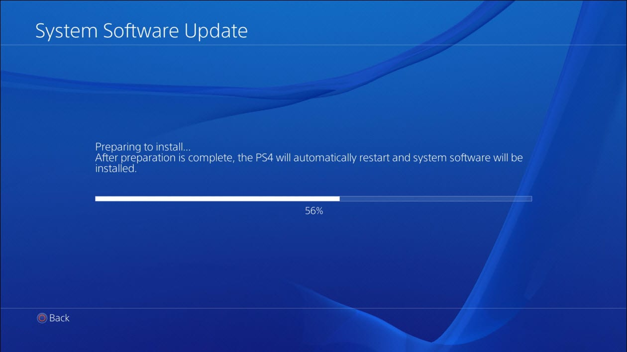 Sony's PS4 update