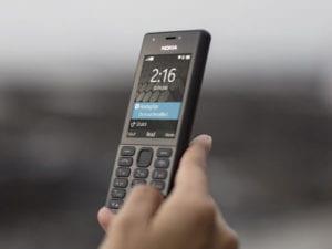 Microsoft revealed Nokia 216