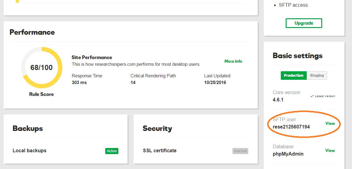 godaddy hosting login