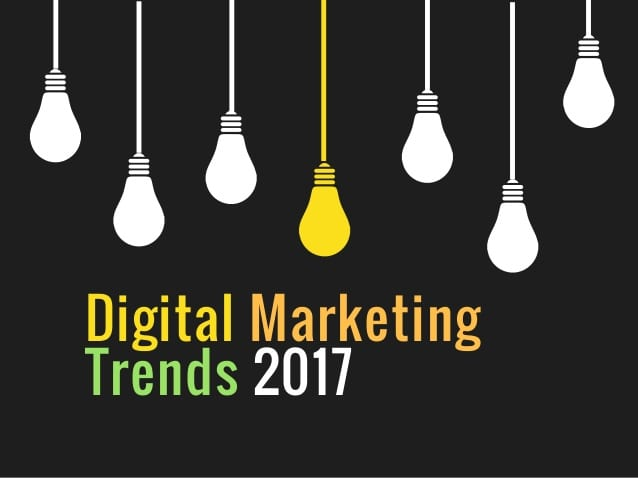 marketing trends of 2017