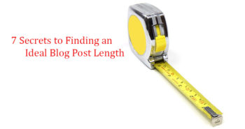 find your ideal blog post length