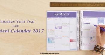 content calendar 2017