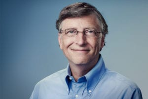 Bill Gates on WeChat - Instant Messaging