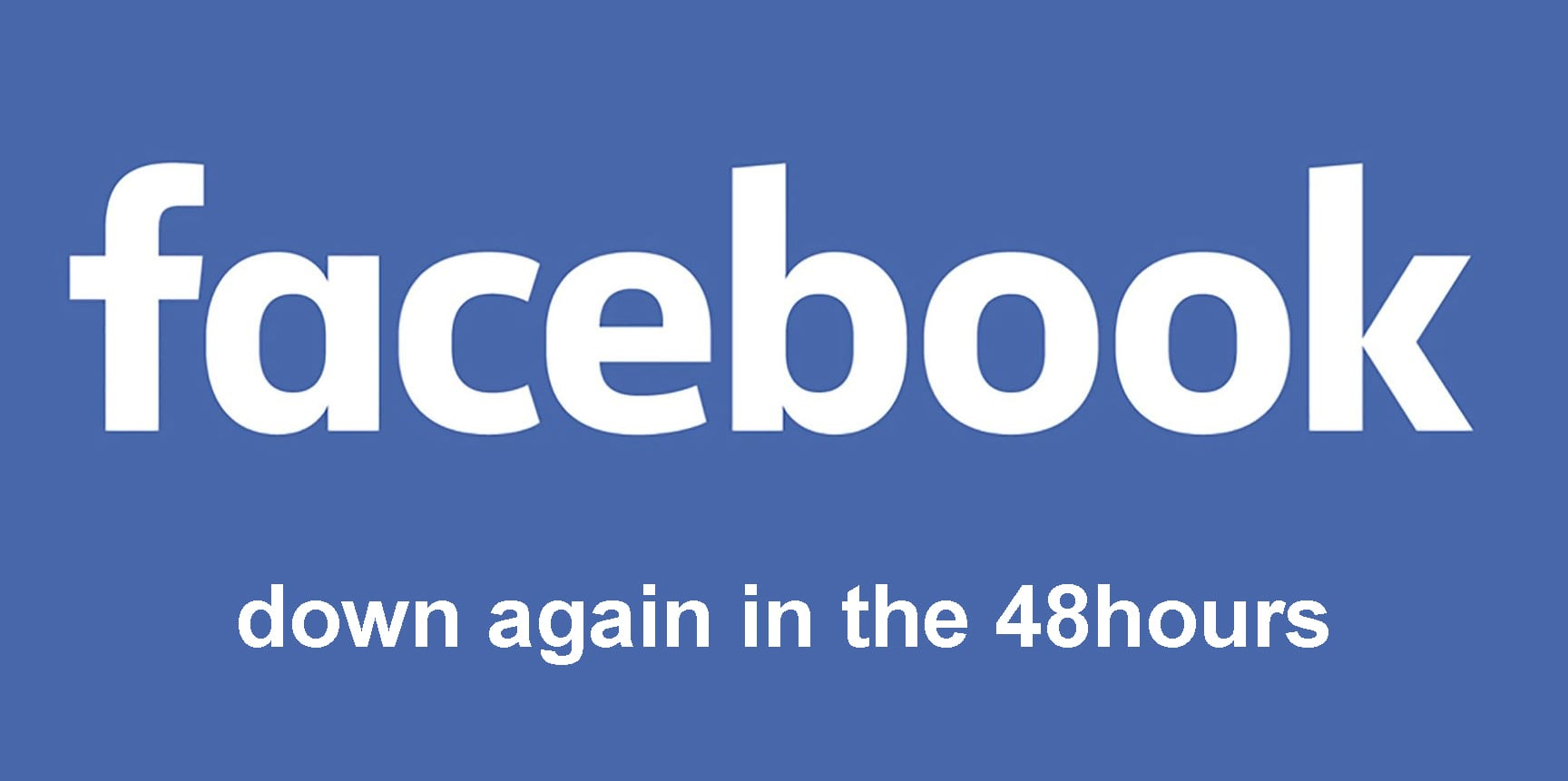 Facebook Error Hit Many Accounts for the Second Time in 48hours