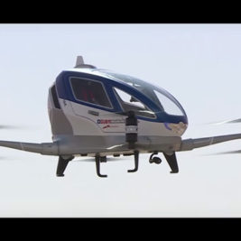 Flying Cabs - EHang 184