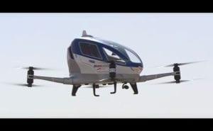 Flying Cabs - EHang 184