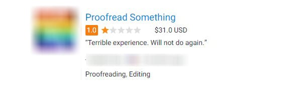 Reviews for Freelancers