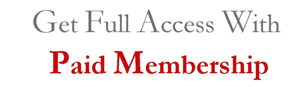 Make Money Blogging - Paid Membership