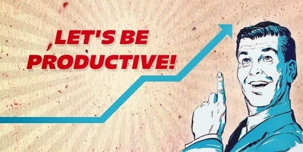 full-time productive blogger