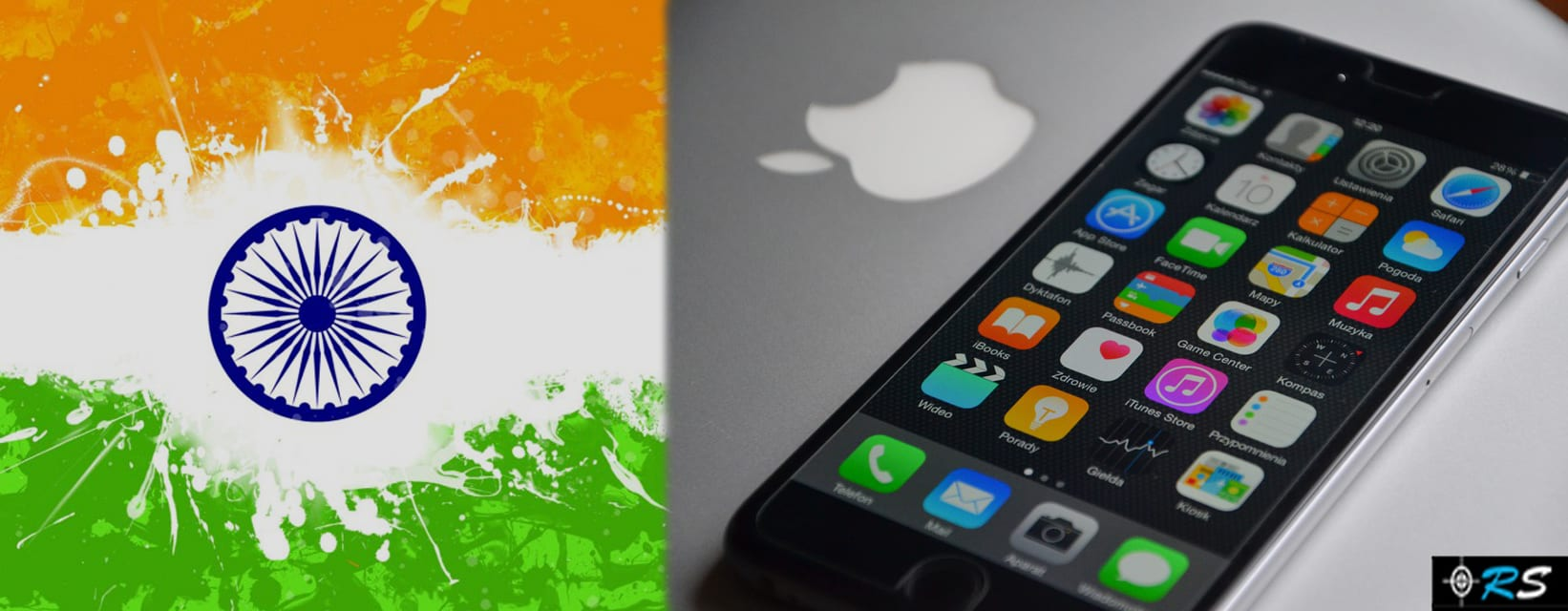 India will be Manufacturing iPhones