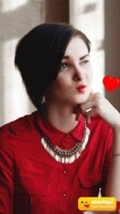 FaceTune Memoji - Kiss Emoji