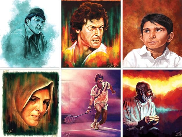 Personalities Pakistani Graphic Artist