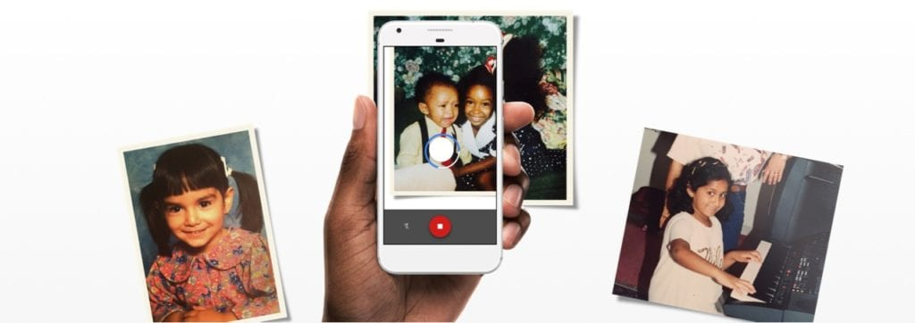 Photo Scan the best iOS mobile app to take photos of photos