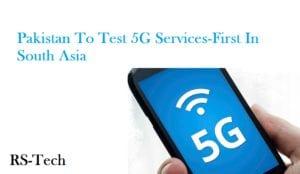 pakistan 5g services