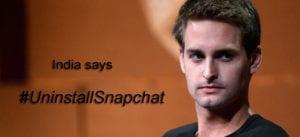 Evan Spiegel - Uninstall Snapchat