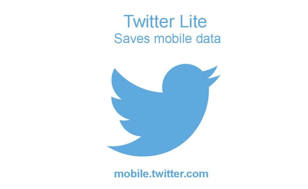 Twitter Lite - The New Data-Optimized Mobile Version of Twitter