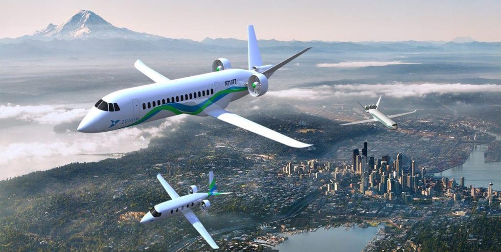 Zunum Aero - Hybrid Electric Jets