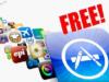 apple free apps