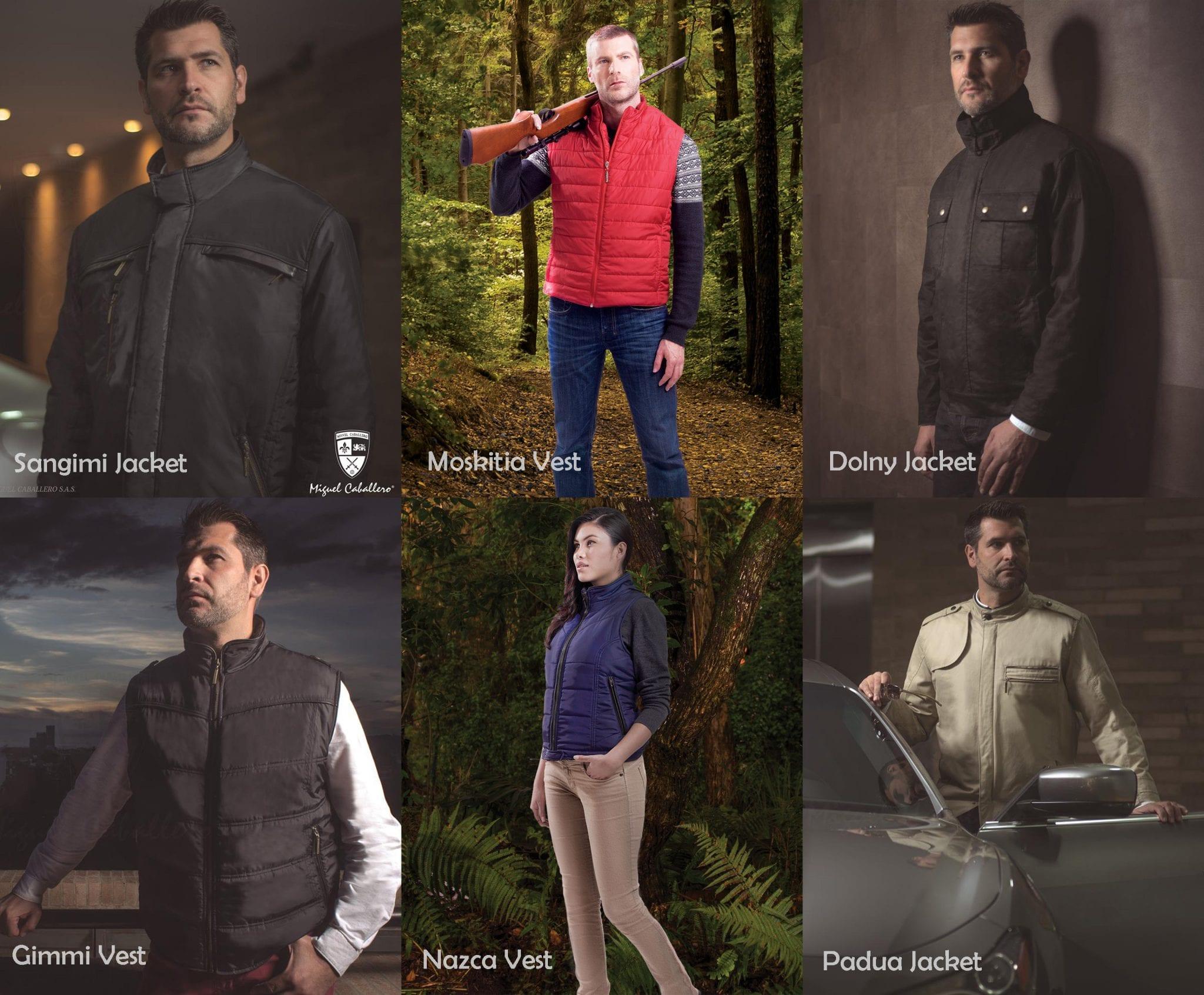 designer Bulletproof Jackets - By Designer Miguel Caballero