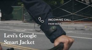 google levi smart jacket