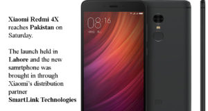 Xiamoi Redmi 4X - Launched in Lahore, Pakistan