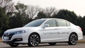 Self-driving cars - Honda