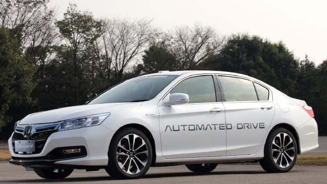 Self Driving Cars Honda
