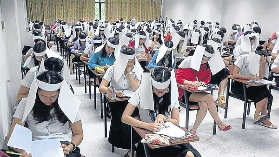 Chinese Education Authorities To Use Drones To Catch Cheating – RS-NEWS