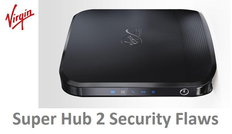 virgin hub 2 security flaws