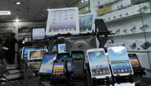 mobile phone imports