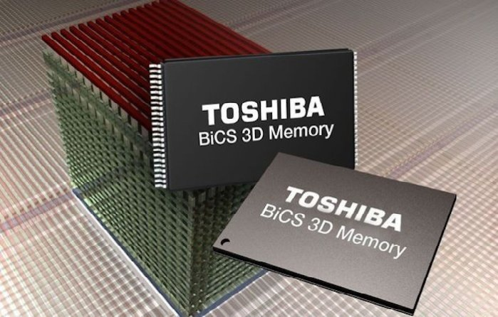 World S First 3d Flash Memory With Tsv Technology Has Been