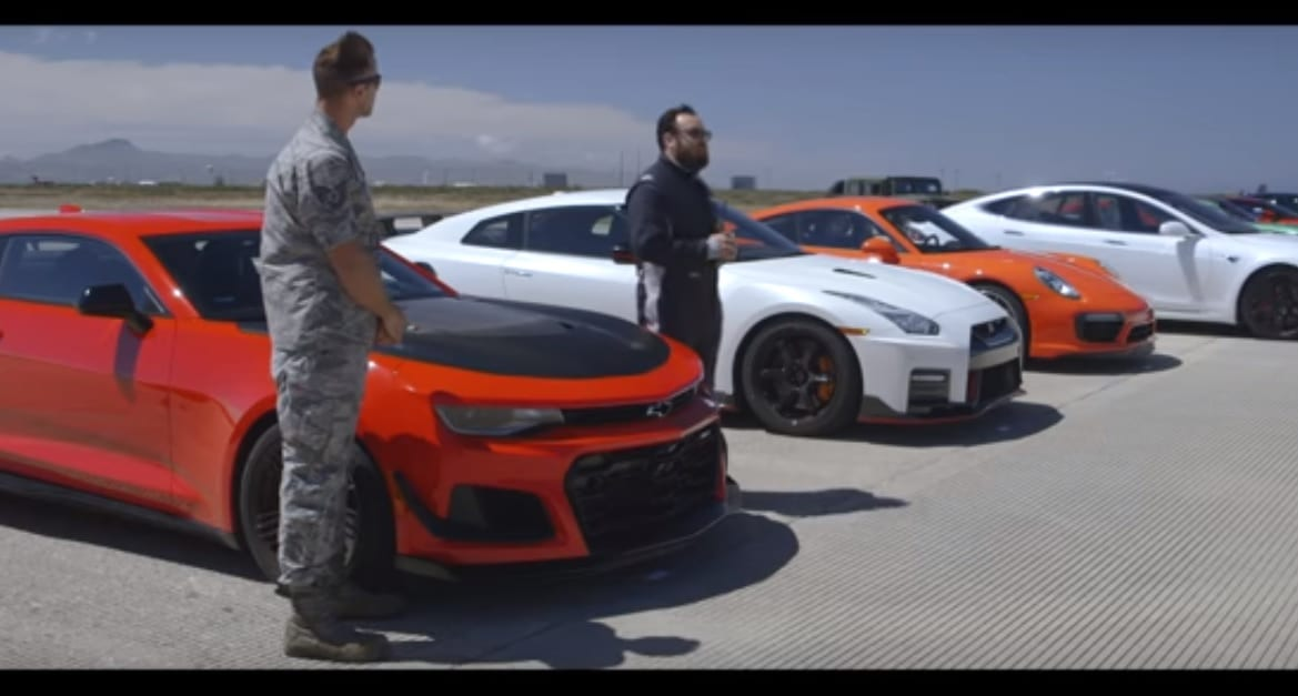 Tesla Smashed All Super Cars In Quarter Mile Drag Race   RS-Tech