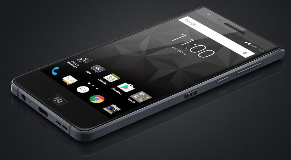 Blackberry Announced its New All-Screen Motion Smartphone