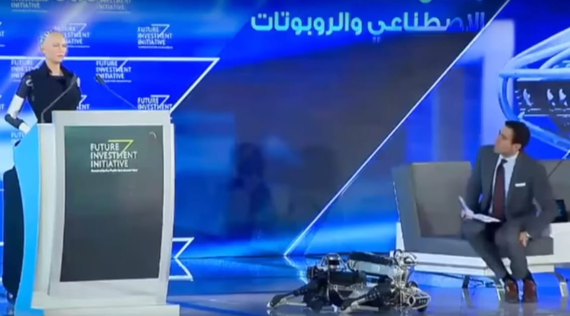 Artificial Intelligent Robot Receives Citizenship in Saudi Arabia