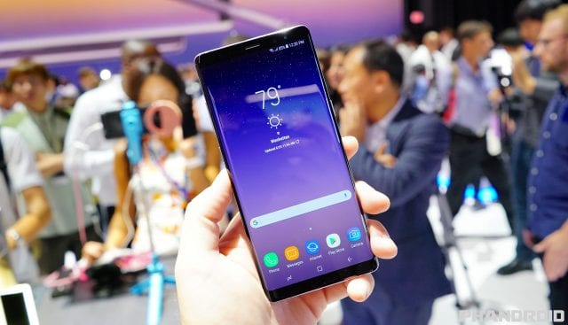New Update Pushing Out to Samsung Galaxy Note8