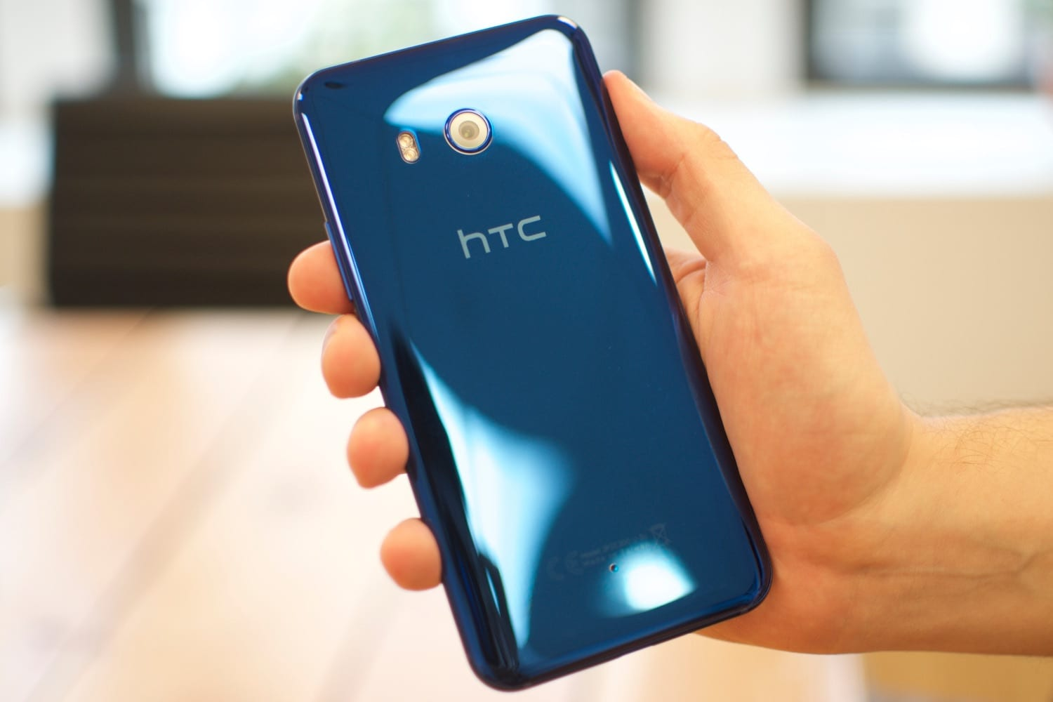 Declassified specifications and appearance of the smartphone HTC U11 Plus
