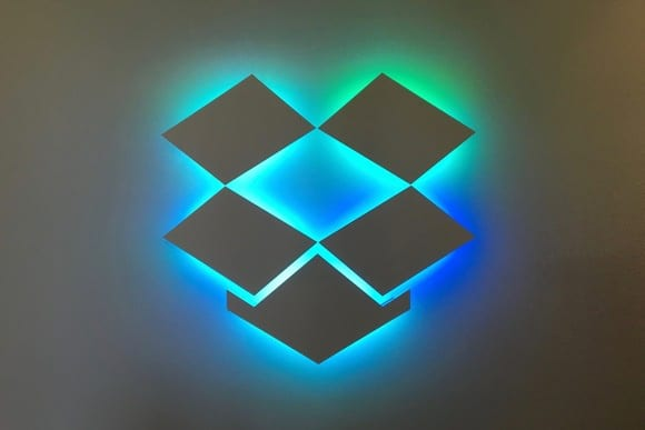 Dropbox redesigns logo in more popart color hues