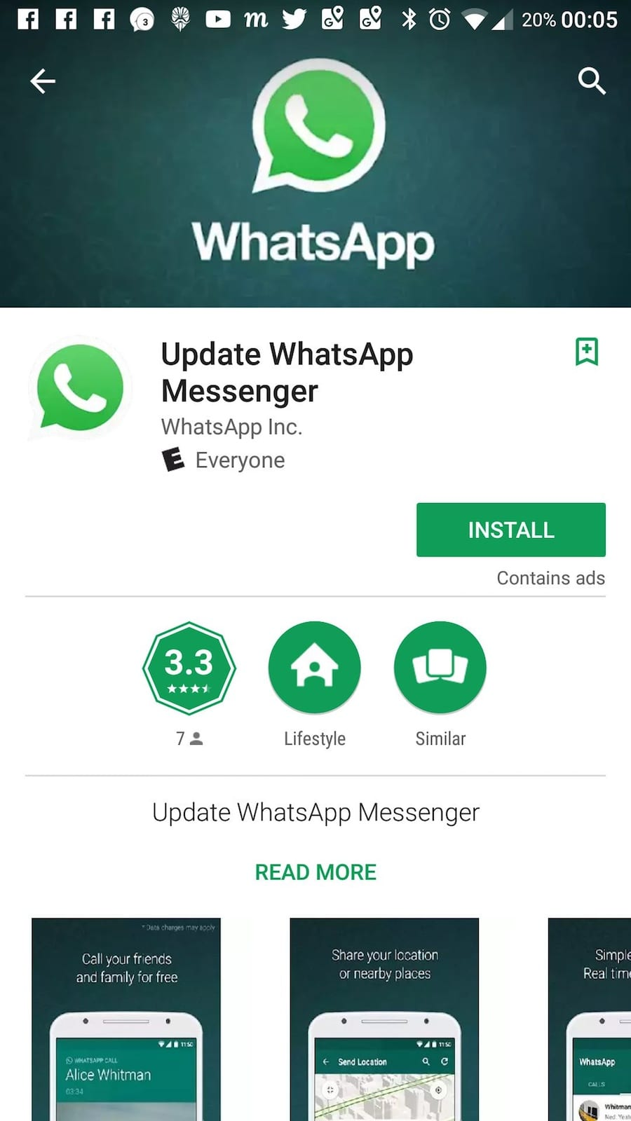 Fake Whatsapp App On Google Play Store Tricked More Than A